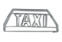 Cookie cutter with stamp - Taxi