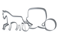 Cookie Cutter - Horse-drawn carriage