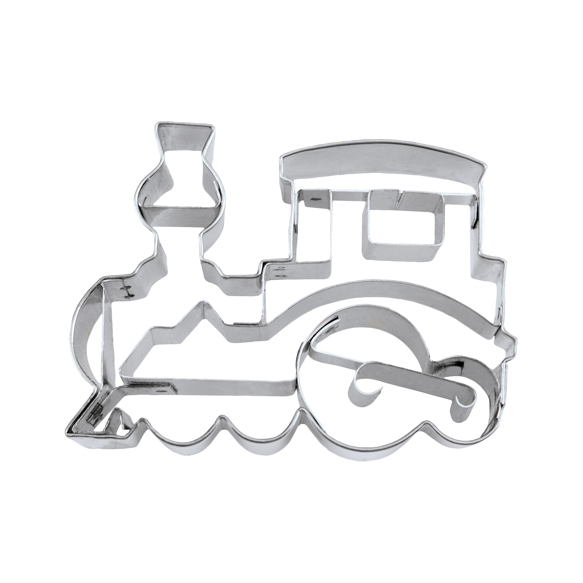 Cookie cutter with stamp - Locomotive