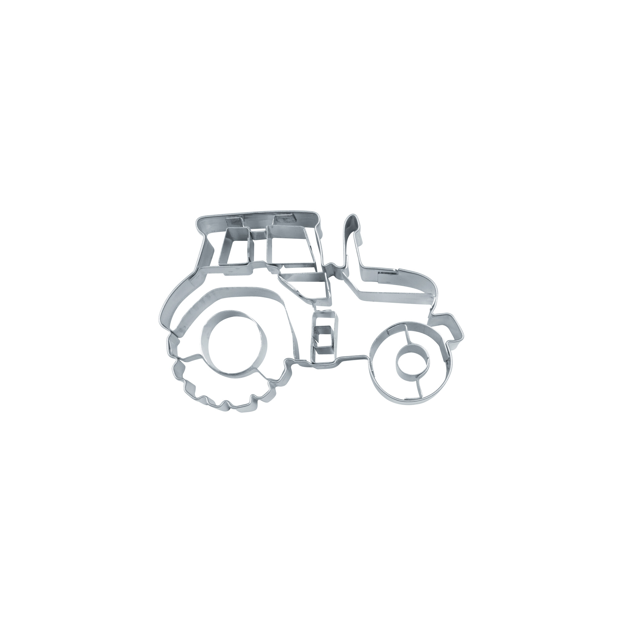 Cookie cutter with stamp - Tractor