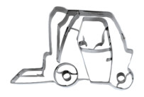 Cookie cutter with stamp - Forklift truck