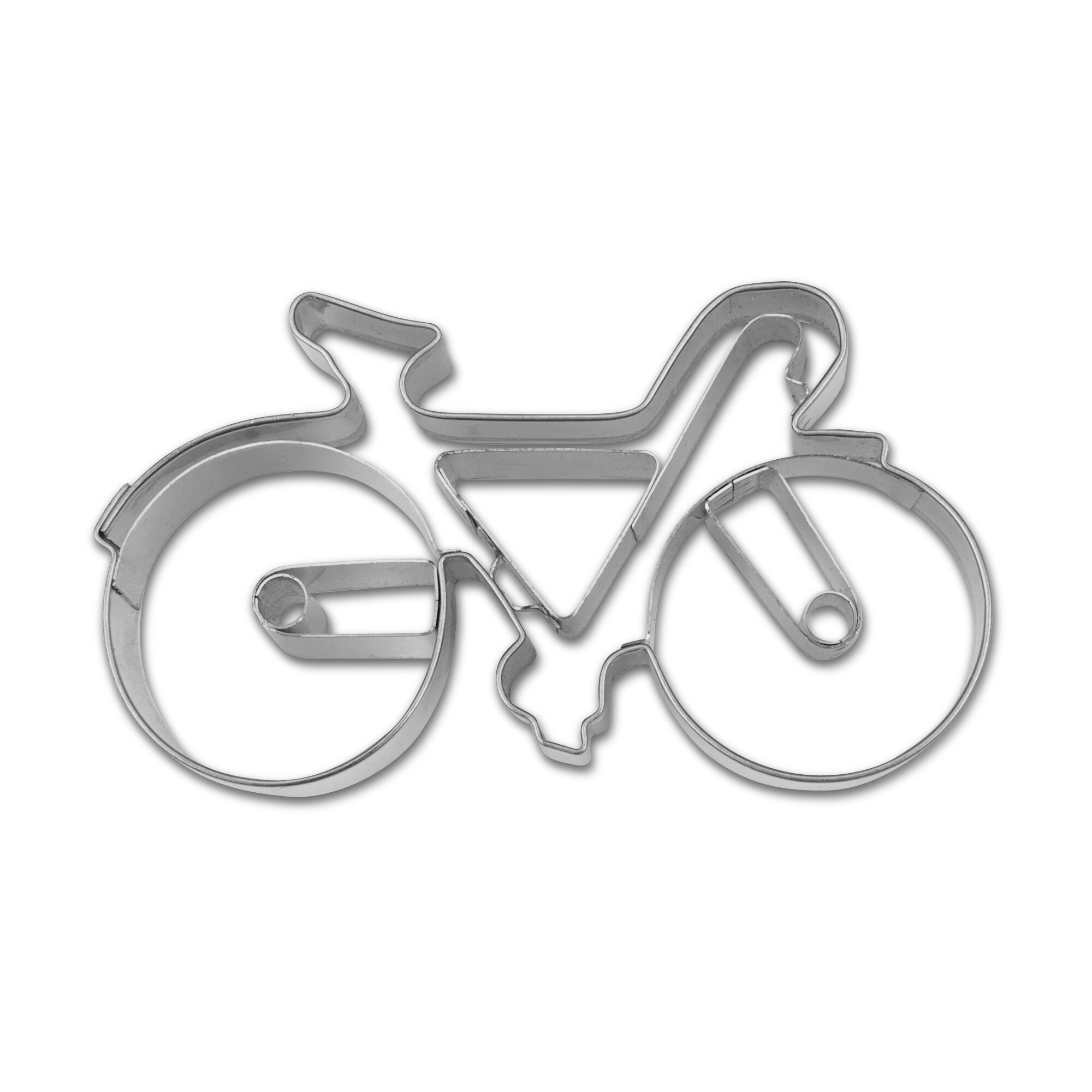 Cookie cutter with stamp - Racing bike / Bicycle