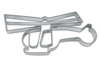 Cookie cutter with stamp - Helicopter