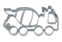 Cookie cutter with stamp - Concrete-mixer