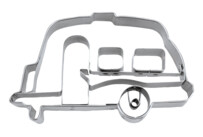 Cookie cutter with stamp - Caravan