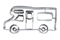 Cookie cutter with stamp - Mobile home