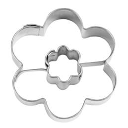 Ausstecher - Blume in Blume