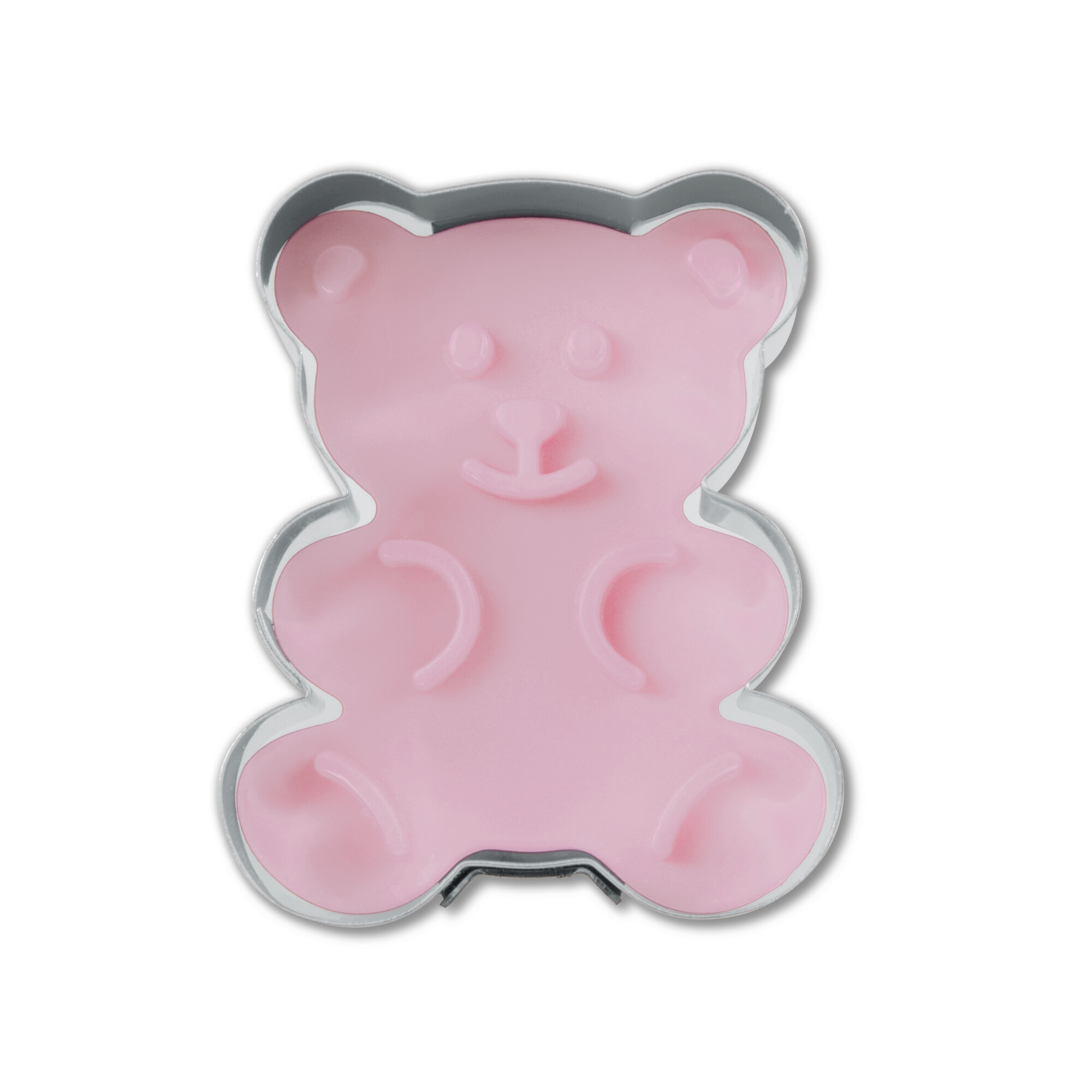 Cookie cutter with stamp and ejector - Bear
