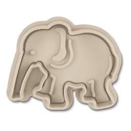 Präge-Ausstecher mit Auswerfer - Elefant