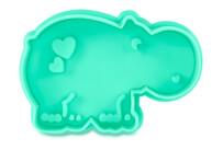 Präge-Ausstecher mit Auswerfer - Nilpferd