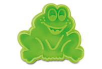 Cookie cutter with stamp and ejector - Frog