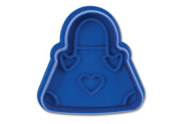 Cookie cutter with stamp and ejector - Handbag