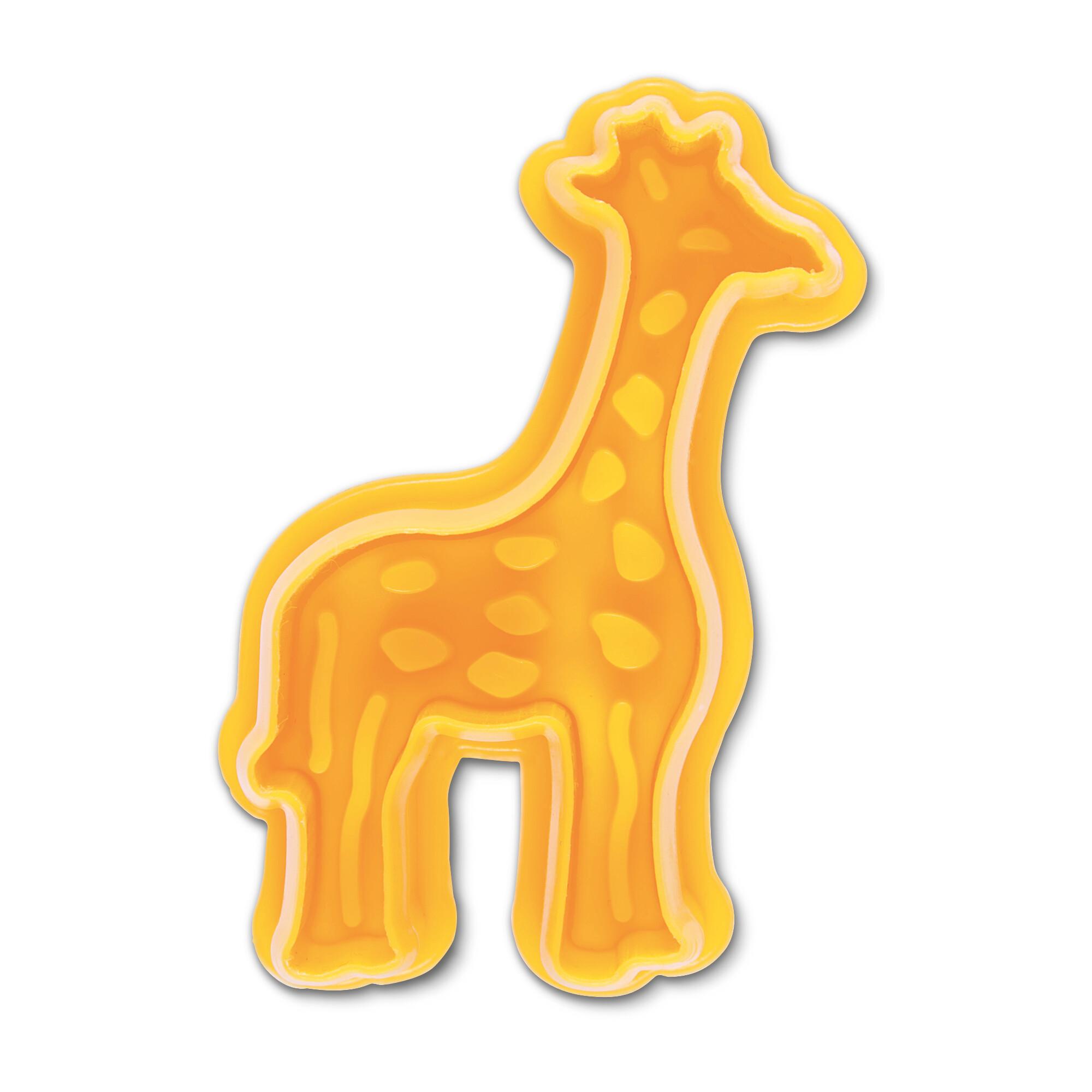 Präge-Ausstecher mit Auswerfer - Giraffe