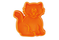 Cookie cutter with stamp and ejector - Cat