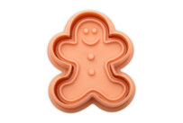 Cookie cutter with stamp and ejector - Gingerbread man