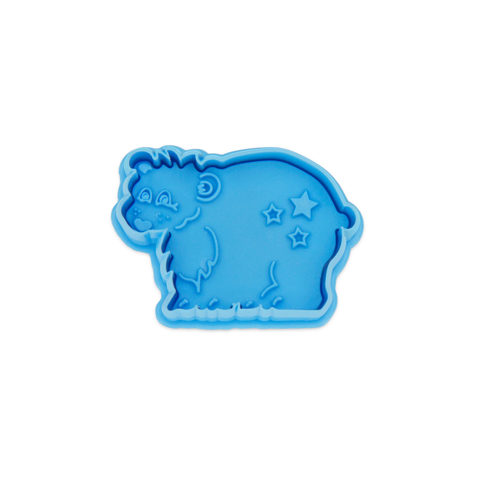Präge-Ausstecher mit Auswerfer - Eisbär