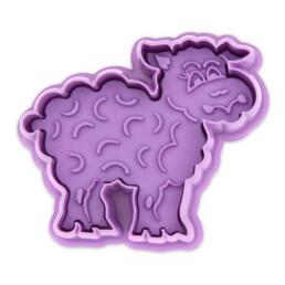 Präge-Ausstecher mit Auswerfer - Schaf