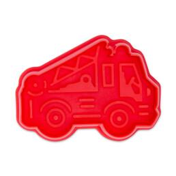 Präge-Ausstecher mit Auswerfer - Feuerwehrauto