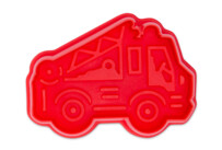 Cookie cutter with stamp and ejector - Fire engine
