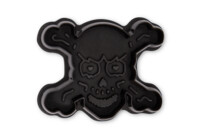 Cookie cutter with stamp and ejector - Skull