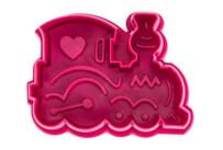 Präge-Ausstecher mit Auswerfer - Lokomotive