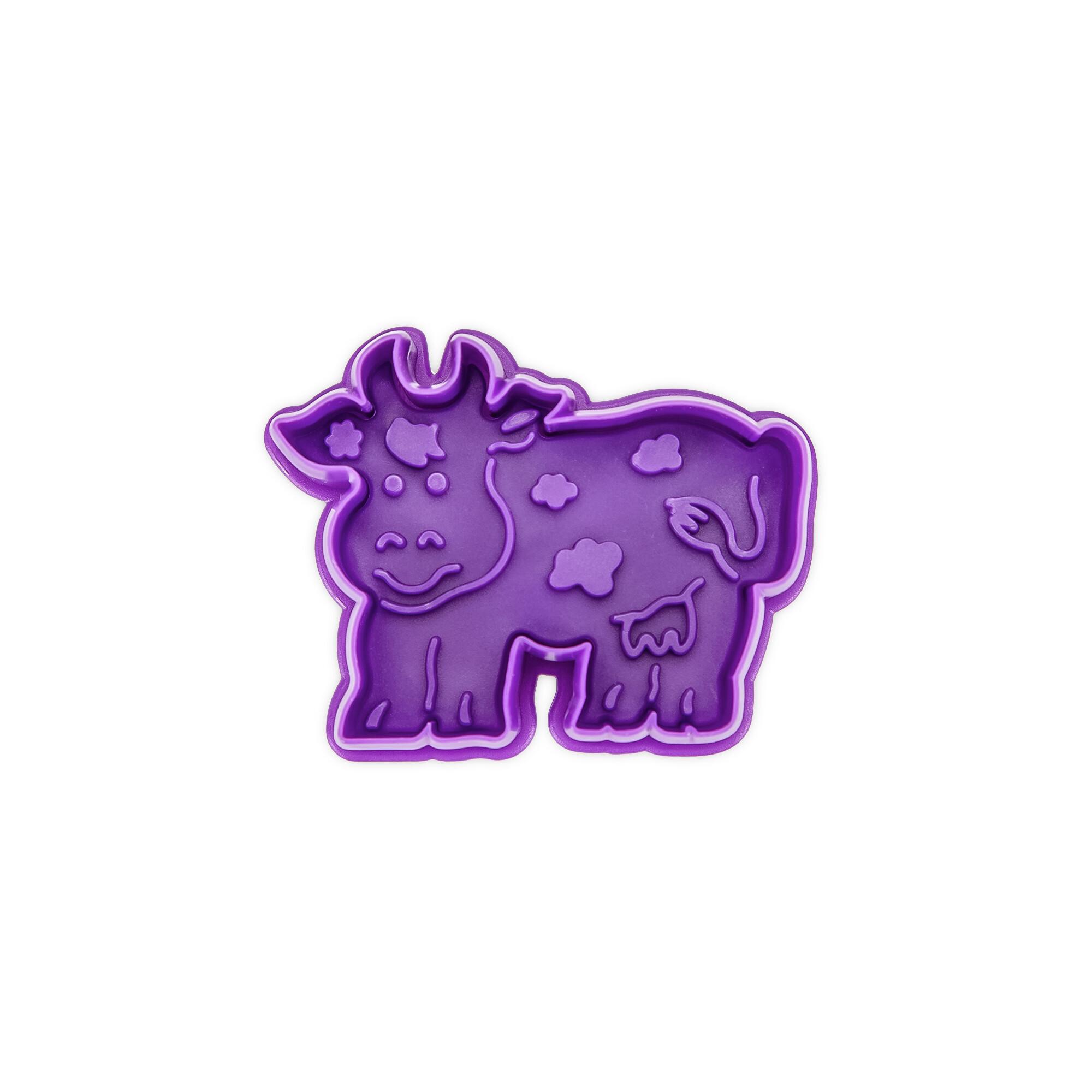 Präge-Ausstecher mit Auswerfer - Kuh