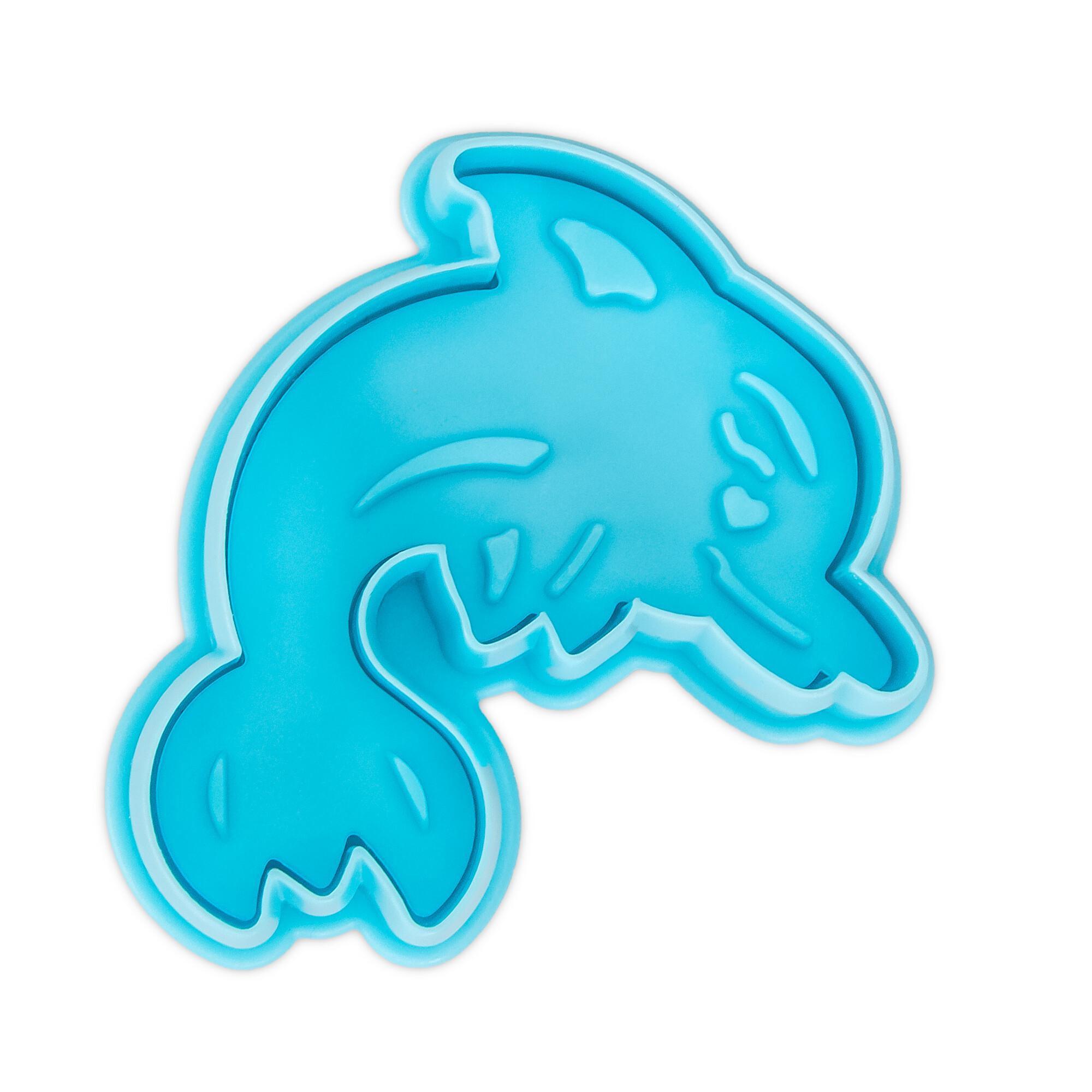 Präge-Ausstecher mit Auswerfer - Delfin