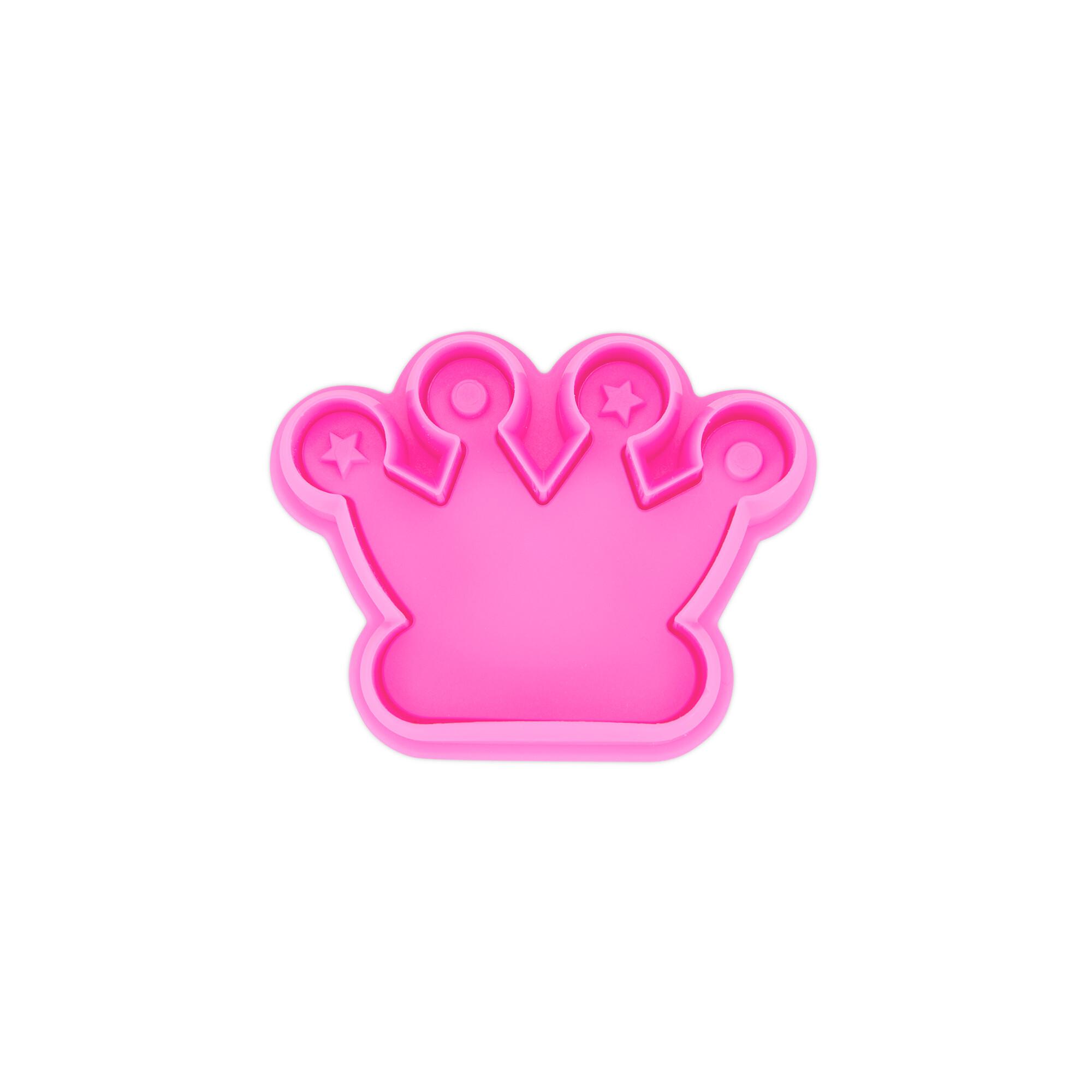 Präge-Ausstecher mit Auswerfer - Krone