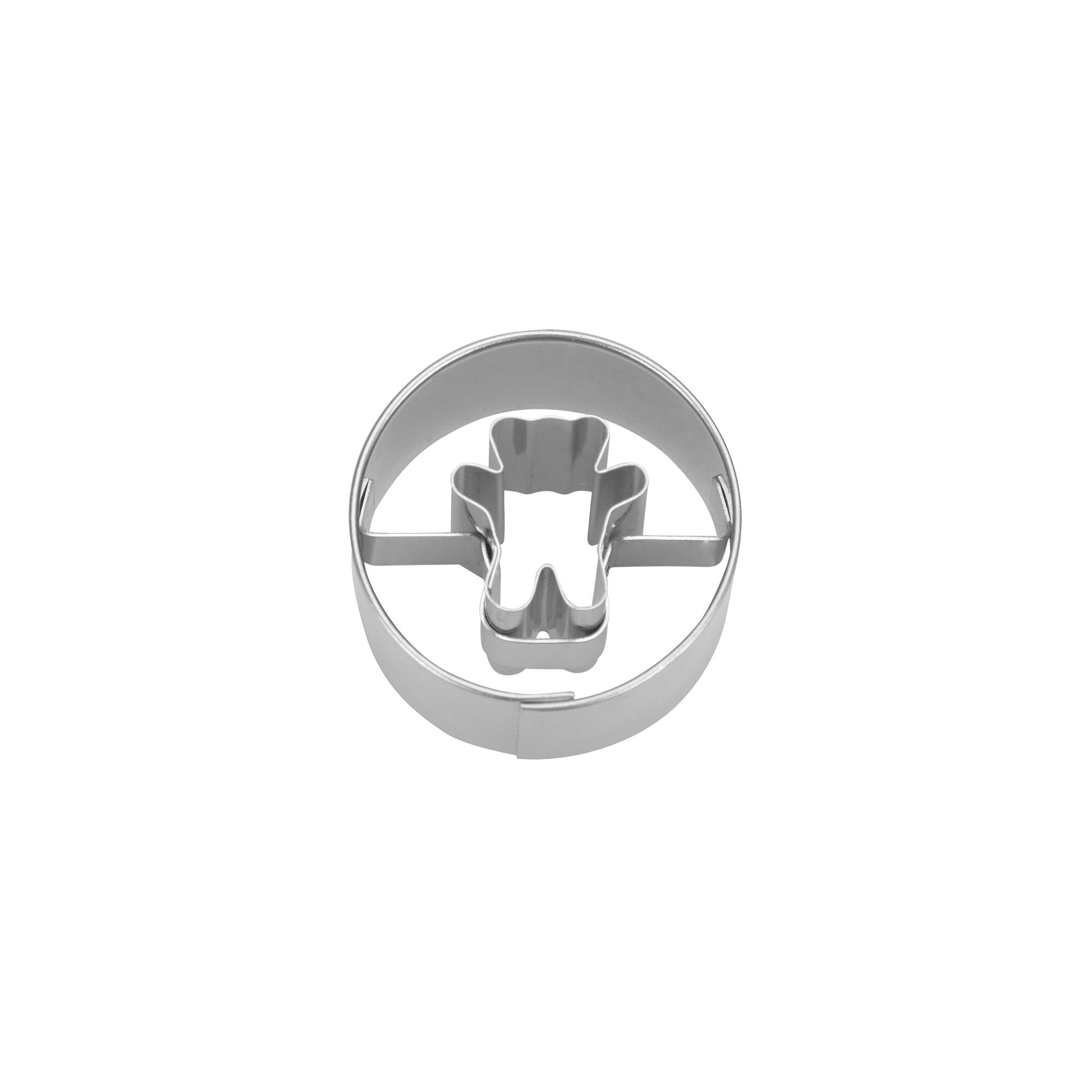 Ausstecher - Bär in Ring - Mini