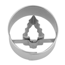 Ausstecher - Tannenbaum in Ring - Mini