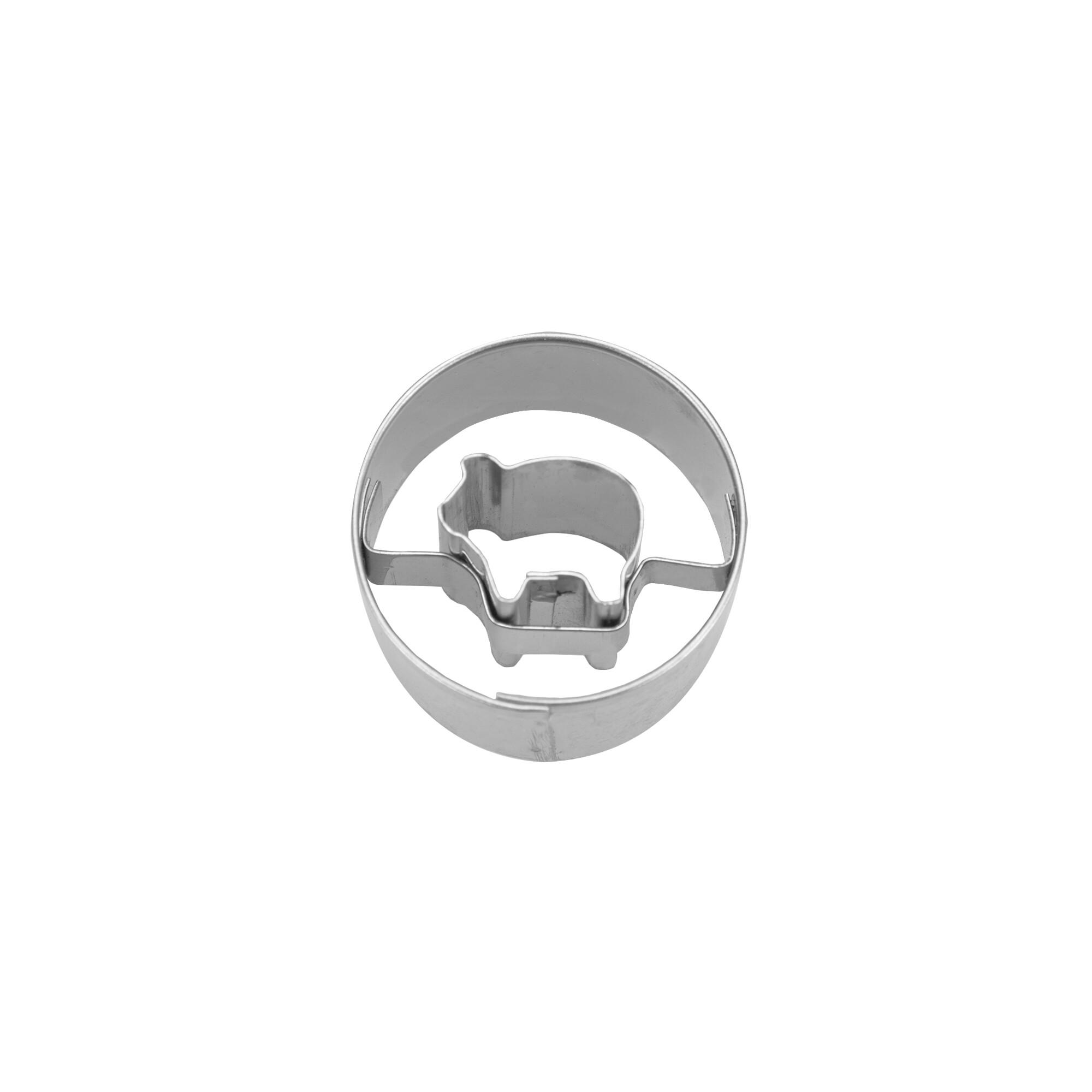 Cookie Cutter - Pig in ring - Mini