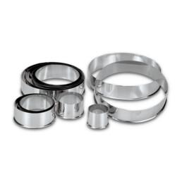 Profi-Ausstecher - Ringe / Kreise - Set, 10-teilig
