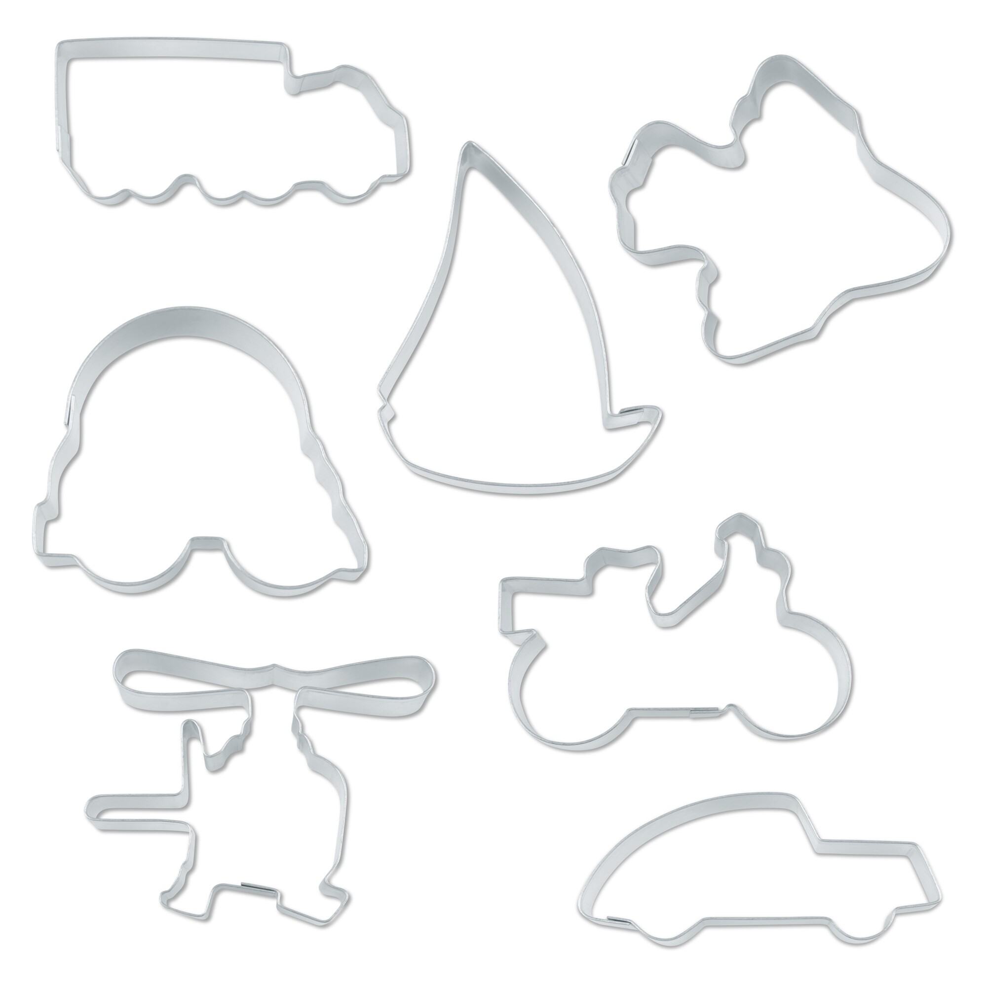Cookie Cutter - Vehicles - Set, 7 parts