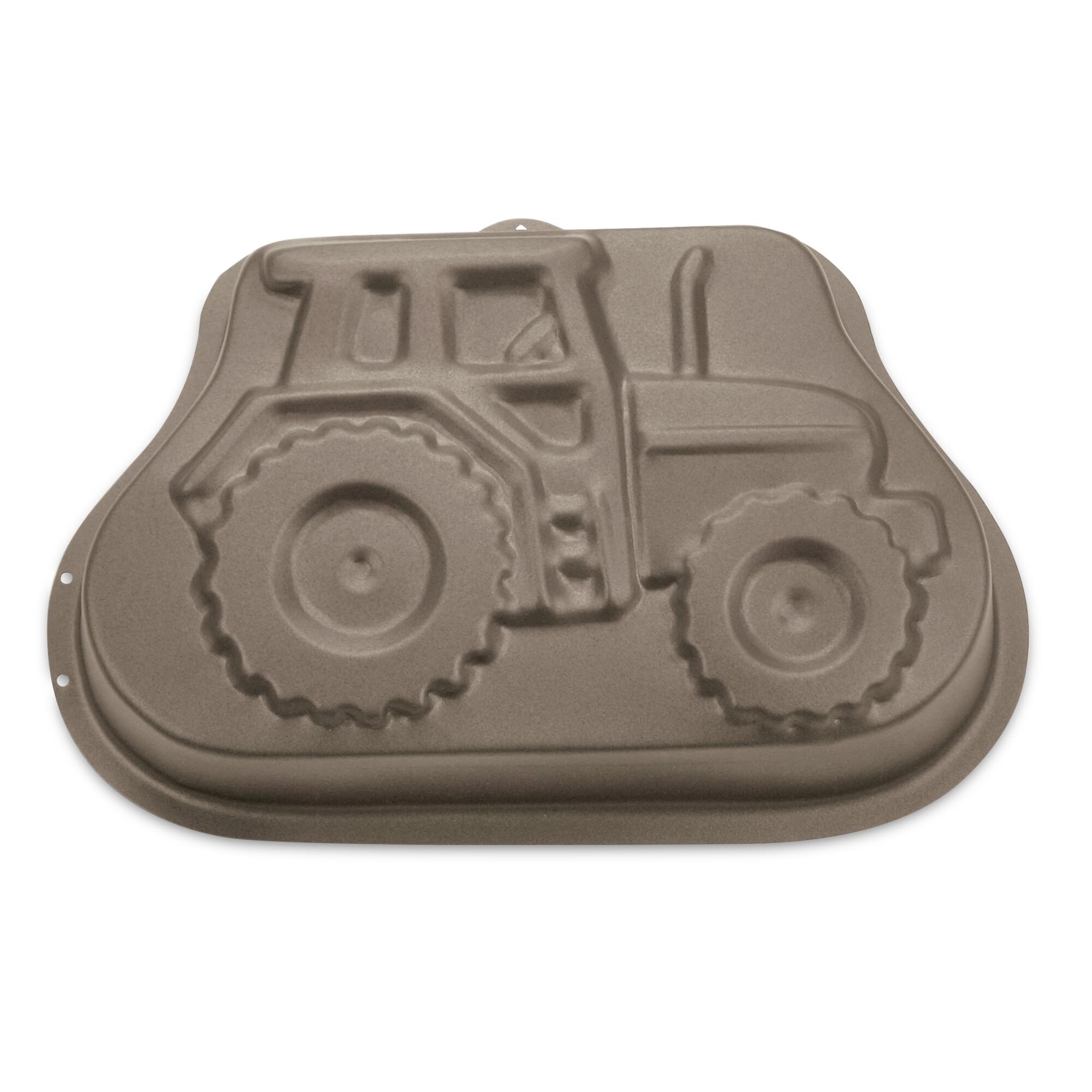 Cake mould - Schorsch the tractor