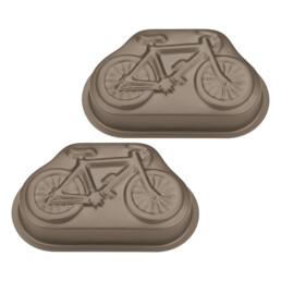 Motivbackform - Resi das Rennrad - Mini - 2 Stück
