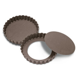 Perfect - Tart tin with removable bottom - Round - 2 pieces