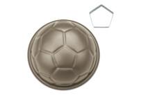 Motivbackform - Pepe der Fußball - mit Fünfeck-Ausstechform