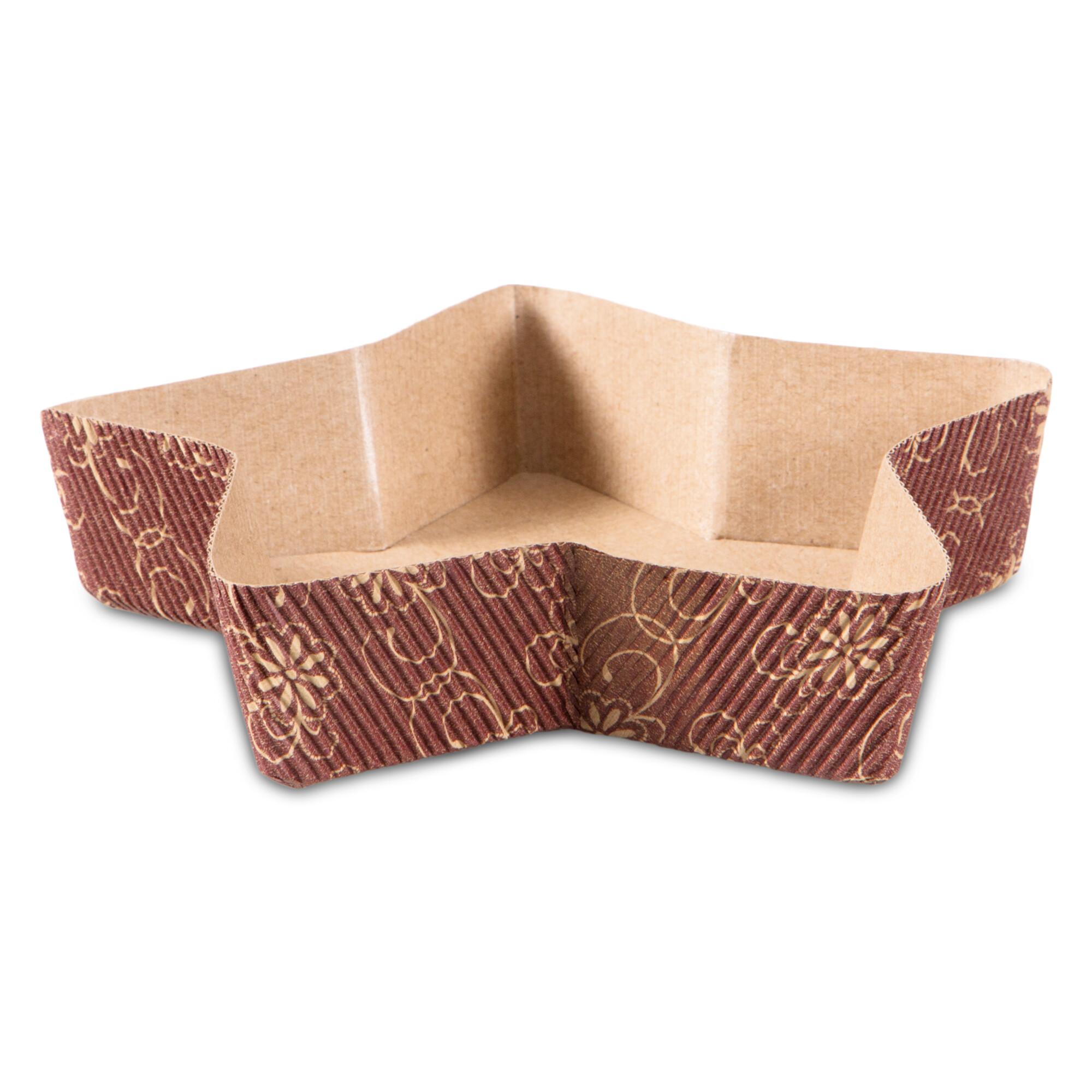Papier-Backform - Stern - 4 Stück
