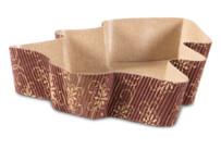 Papier-Backform - Tannenbaum - 4 Stück