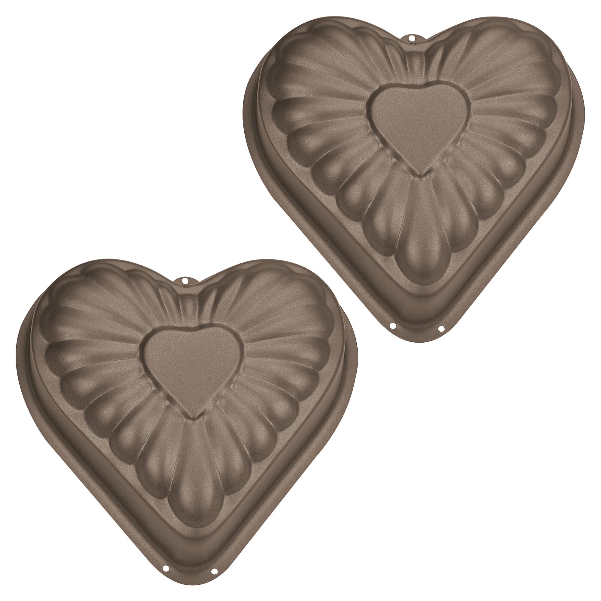 Cake mould - Heart - Mini - 2 pieces