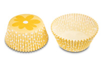 Paper cupcake liners - Flower - Maxi - 50 pieces