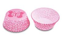 Papier-Backförmchen - Schmetterling - Mini - 50 Stück