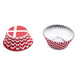 Papier-Backförmchen - Dänemark - 50 Stück