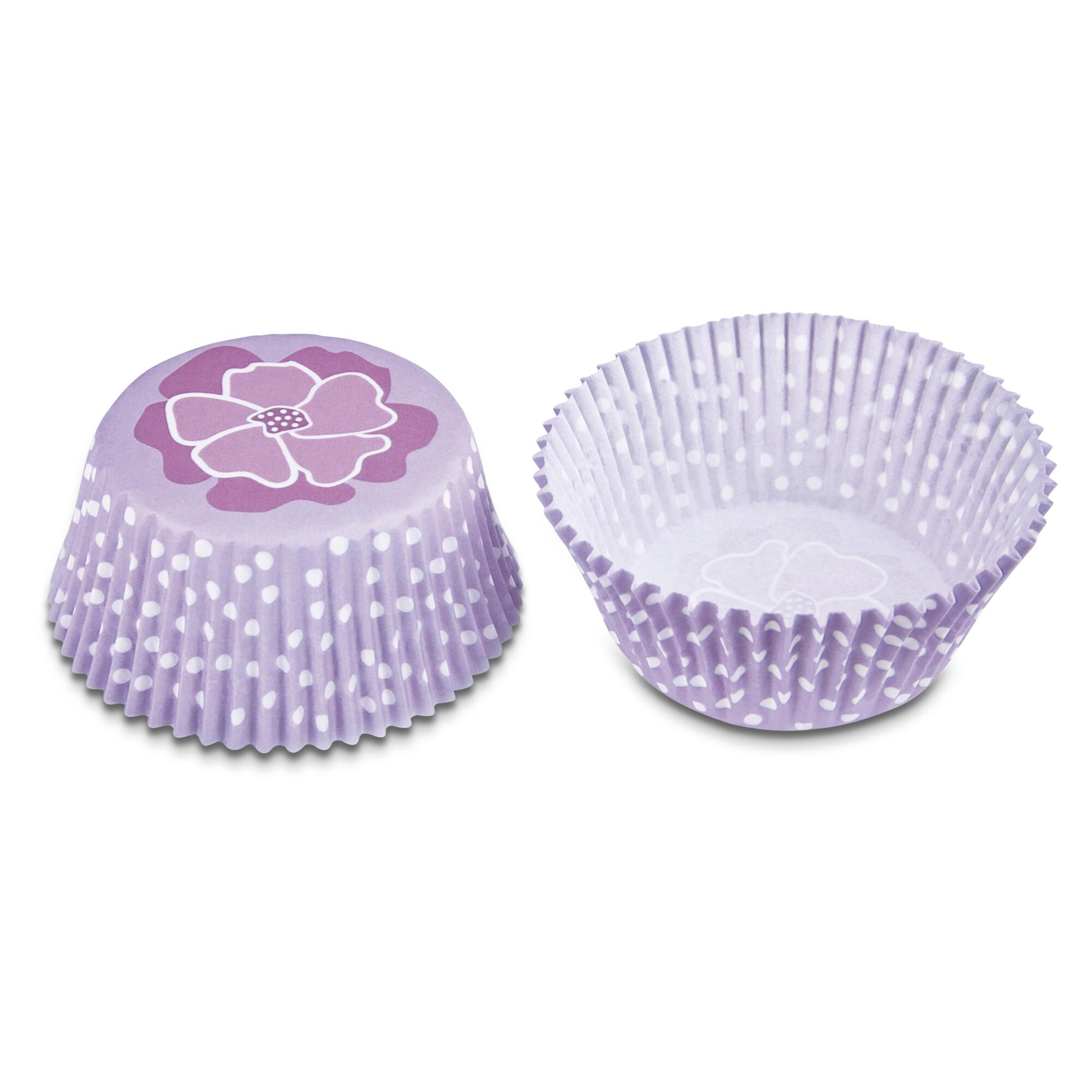Papier-Backförmchen – Blüte – 50 Stück