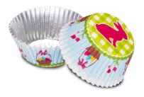 Papier-Backförmchen - Osterhäschen - 50 Stück