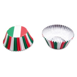 Papier-Backförmchen - Italien - 50 Stück