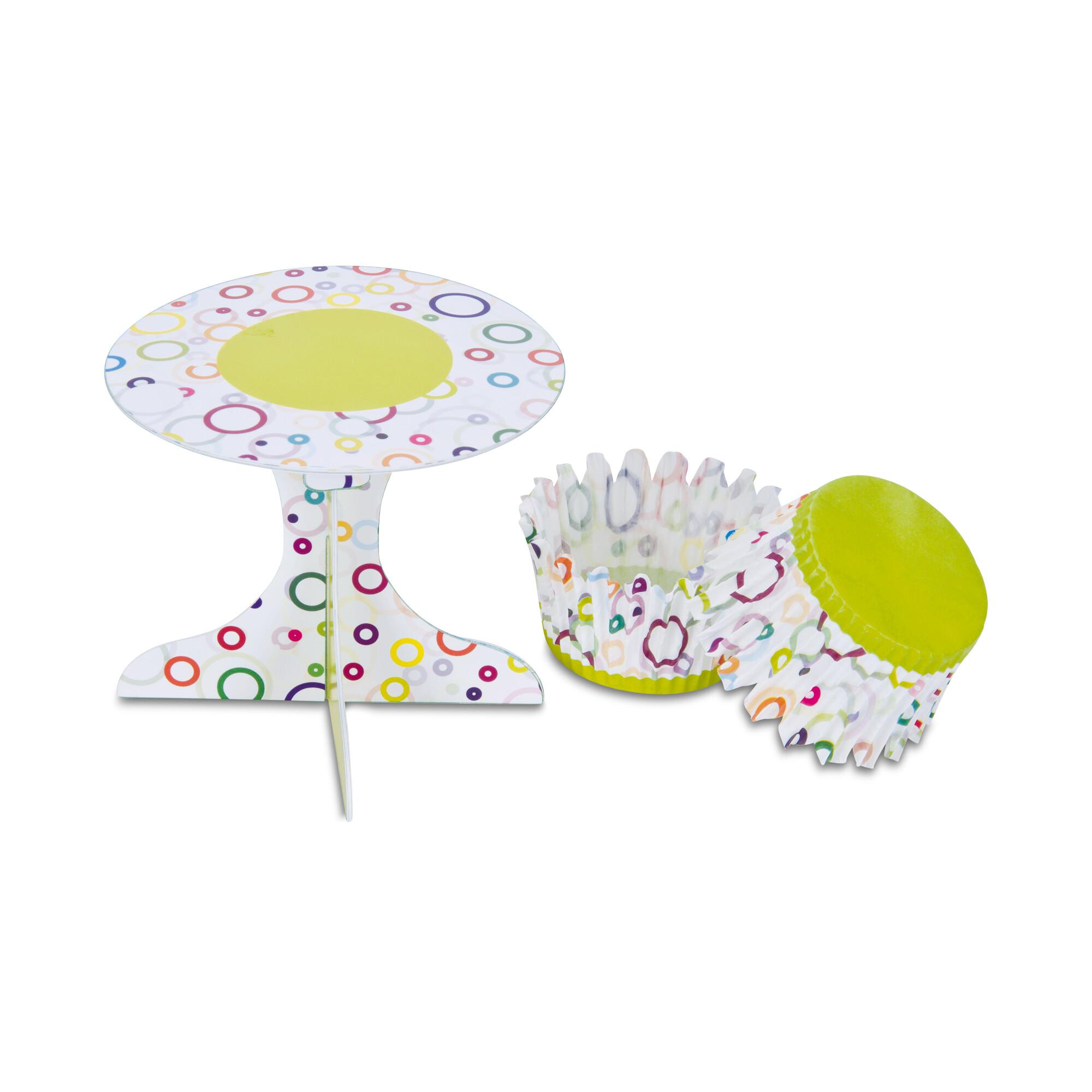 Cupcake deko - Party - Set, 36 parts
