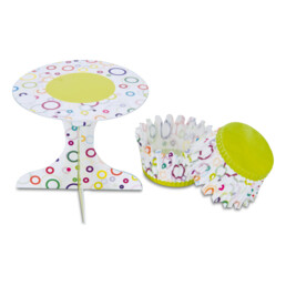 Cupcake-Deko - Party - Set, 36-teilig
