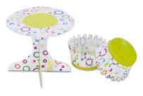 Cupcake-Deko - Party - Set, 36-teilig