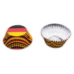 Papier-Backförmchen - Deutschland - 50 Stück